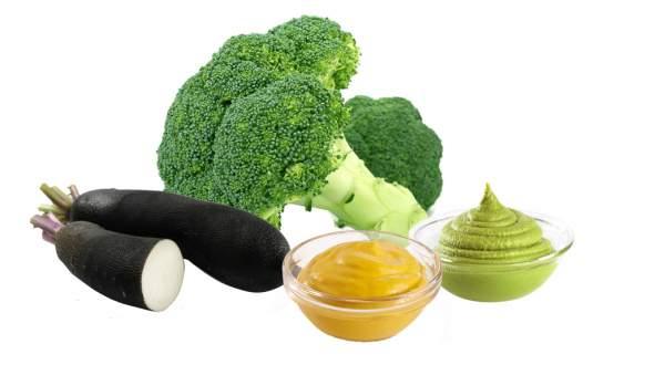 Le mélange ultime pour tempérer Helicobacter pylori : brocoli, wasabi, radis noir, moutarde.