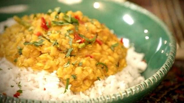 Le dhaal de lentilles avec du riz est une association alimentaire parfaite.