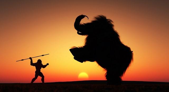 A l'époque du chasseur-cueilleur, qui a duré un certain temps, notre corps à développer certaines facultés...