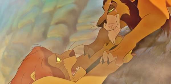 Mufasa épuisé lâche la falaise, comme le sphincter de ton estomac.