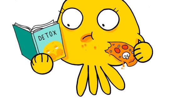 Evite d'avaler les toxines pendant la détox pour qu'elle soit efficace