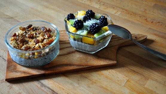 Desserts sans lactose, sans gluten et sans sucre ajouté