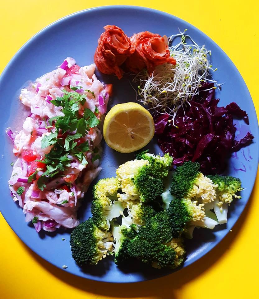 Ceviche : du poisson mariné au citron pour la santé de tes tripes !