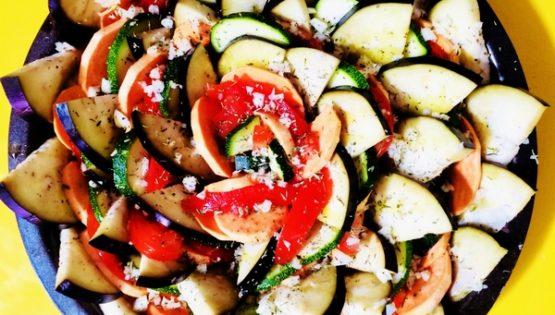 Tian provençal aux beaux légumes estivaux, pour manger un bout de soleil !