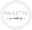 Logo du service traiteur Paulette is Cooking