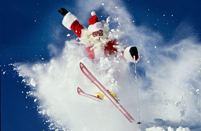 En ces fêtes de fin d'année, l'activité physique est fortement recommandée !